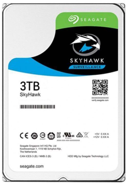 "Жесткий диск SEAGATE Skyhawk ST3000VX009,  3Тб,  HDD,  SATA III,  3.5"""