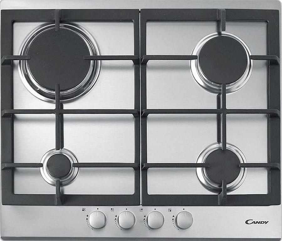 Варочная панель CANDY CPG 64SGX,  независимая,  нержавеющая сталь