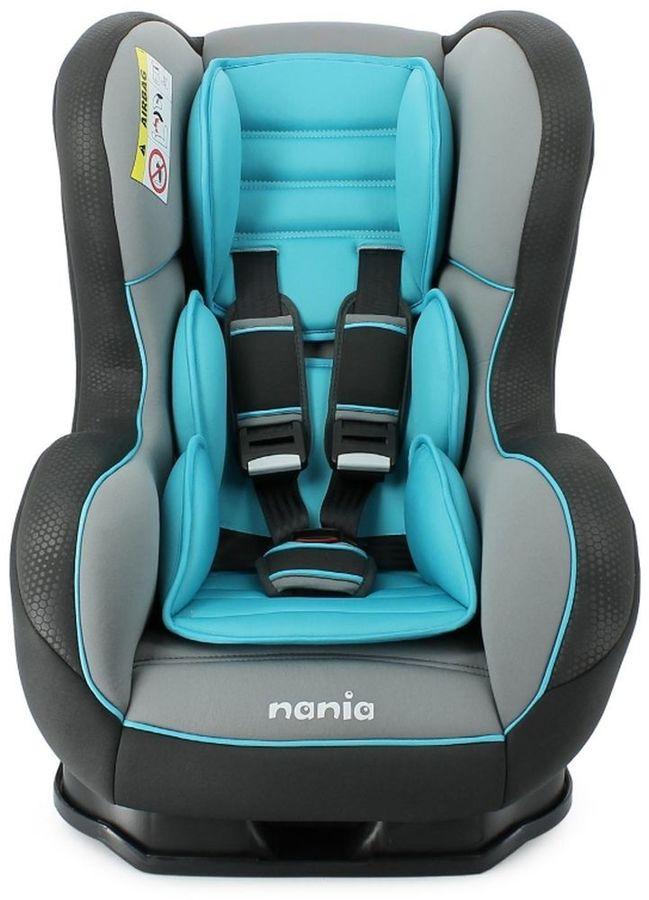 Автокресло детское NANIA Cosmo SP LX (blue), 0+/1, голубой [395067]