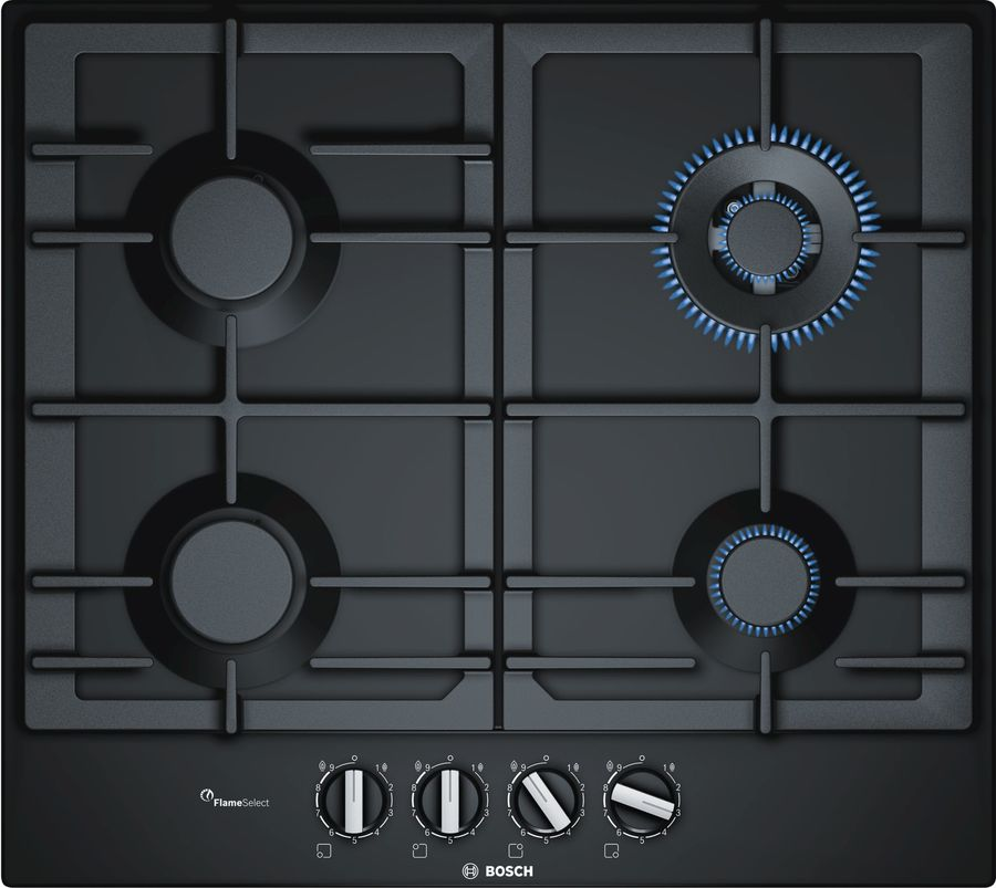 Варочная панель BOSCH PCH6A6B90R,  независимая,  черный