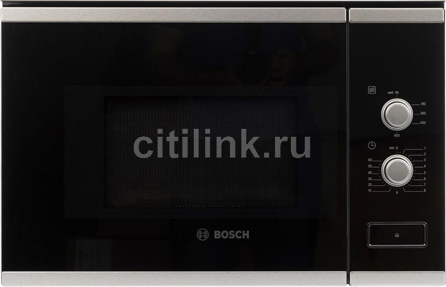 Купить Микроволновая Печь Bosch BFL520MS0 20л. 800Вт черный (встраиваемая) в интернет-магазине СИТИЛИНК, цена на Микроволновая Печь Bosch BFL520MS0 20л. 800Вт черный (встраиваемая) (1063333) - Воронеж