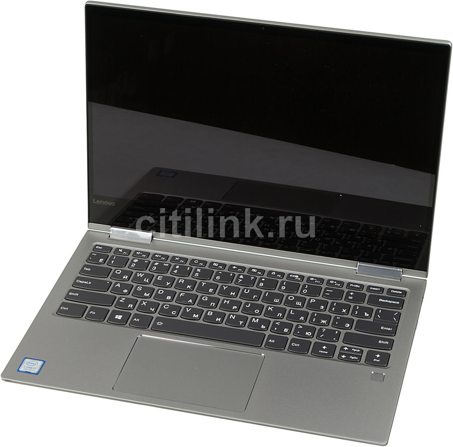 Ноутбук-трансформер LENOVO Yoga 730-15IKB, 13., Intel Core i7 8550U .8ГГц, 16Гб, 512Гб SSD,  UHD Graphics 620, Windows 10 Professional, 81CT003PRU, серый