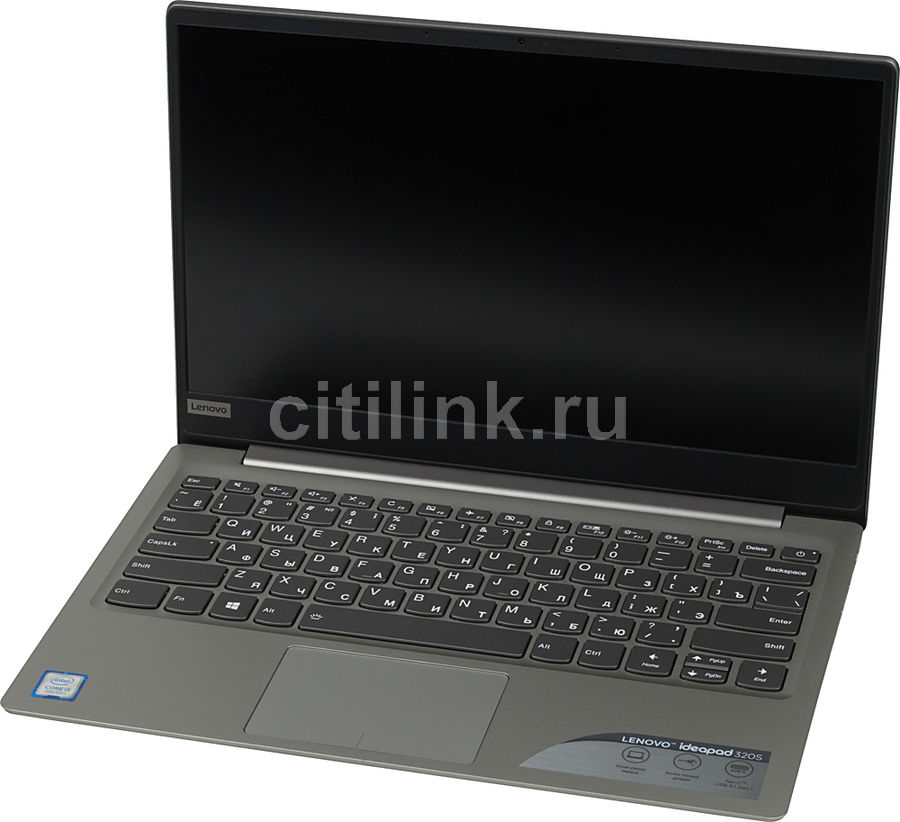 Ноутбук LENOVO IdeaPad 320S-13IKB, 13.3, Intel Core i5 8250U 1.6ГГц, 8Гб, 128Гб SSD, Intel UHD Graphics 620, Windows 10, 81AK001TRK, серый ноутбук lenovo ideapad yoga 920 13ikb 80y7001urk intel core i5 8250u 1 6 ghz 8192mb 256gb ssd no odd intel hd graphics wi fi bluetooth cam 13 9 1920x1080 touchscreen windows 10 64 bit