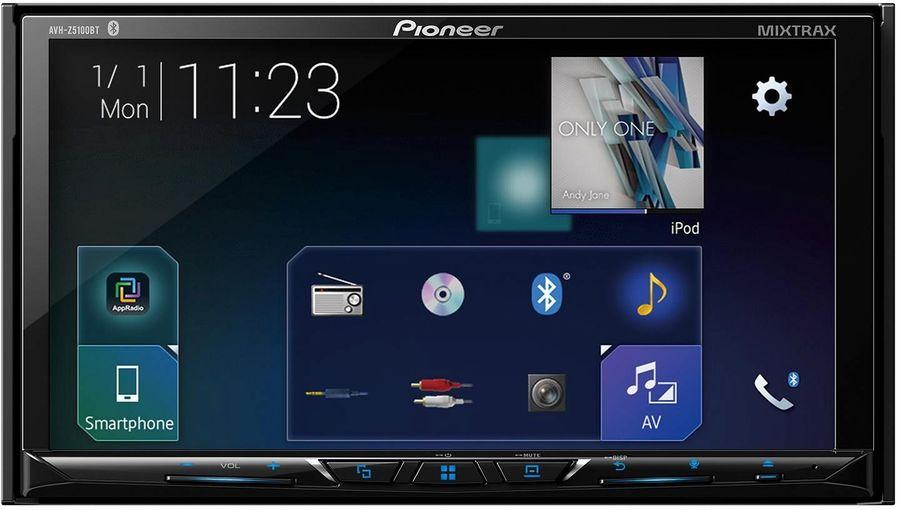 Автомагнитола PIONEER AVH-Z5100BT,  USB