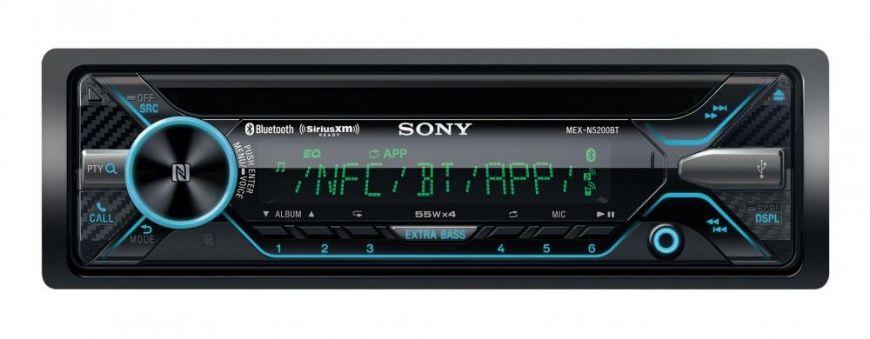 Автомагнитола SONY MEX-N5200BT,  USB