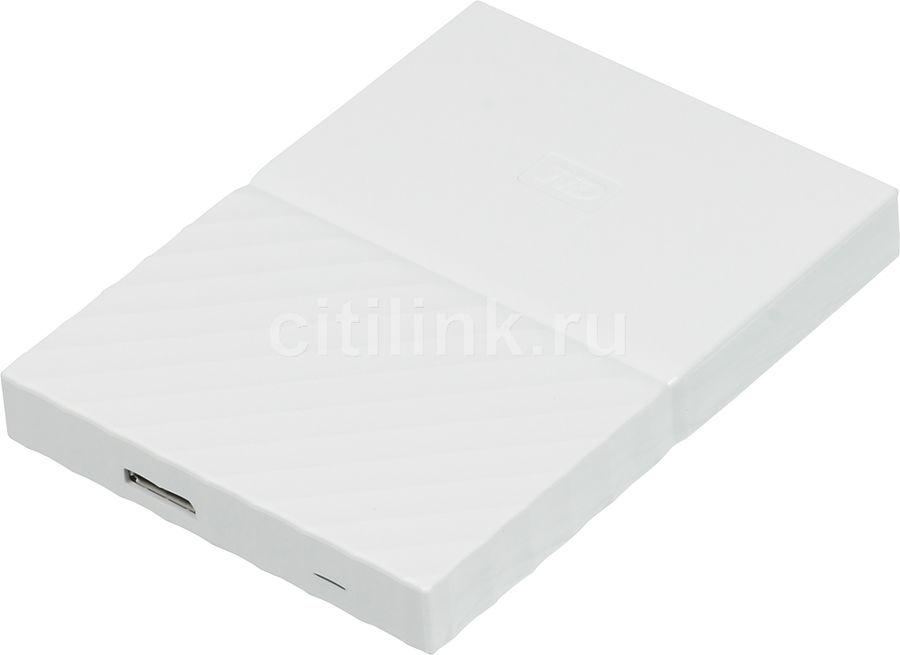 Внешний жесткий диск WD My Passport WDBLHR0020BWT-EEUE, 2Тб, белый