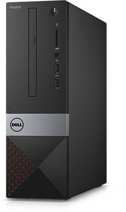 Компьютер  DELL Vostro 3268,  Intel  Core i3  7100,  DDR4 4Гб, 1000Гб,  Intel HD Graphics 630,  CR,  Windows 10 Professional,  черный [3268-3261]