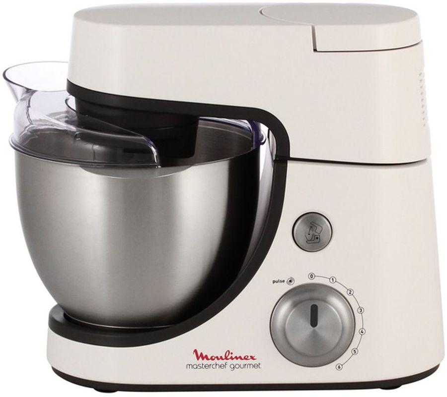 Кухонная машина MOULINEX QA5001B1,  белый / темно-серый [2820500101]
