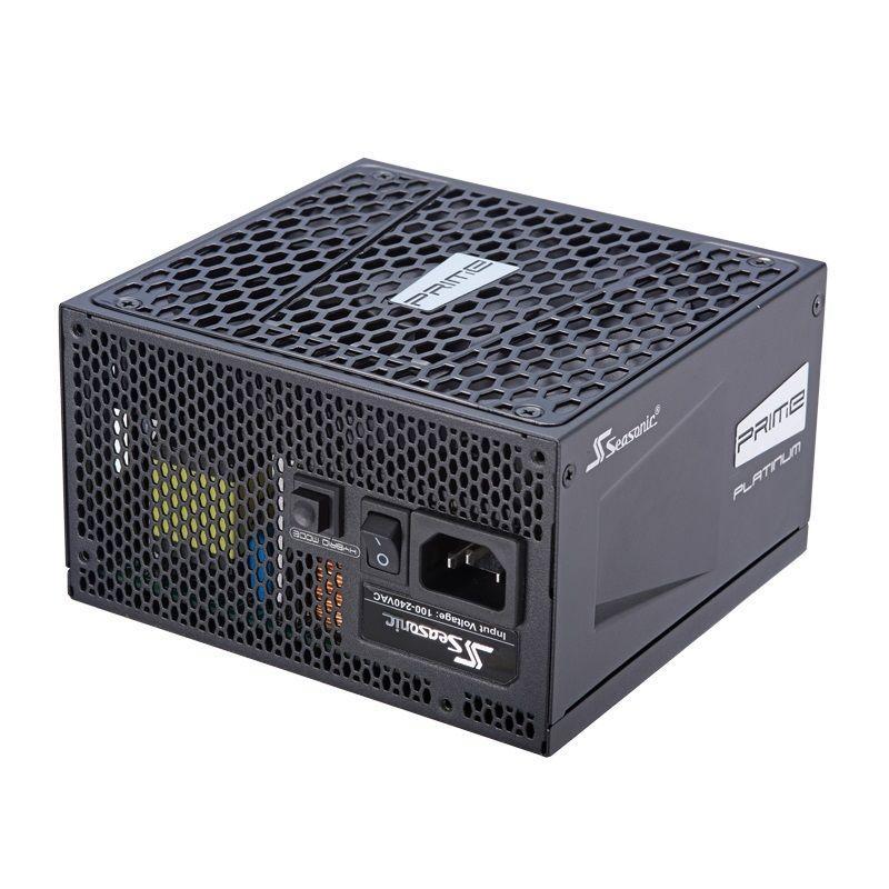 Блок питания SEASONIC PRIME ULTRA PLATINUM SSR-750PD2,  750Вт,  135мм,  черный, retail