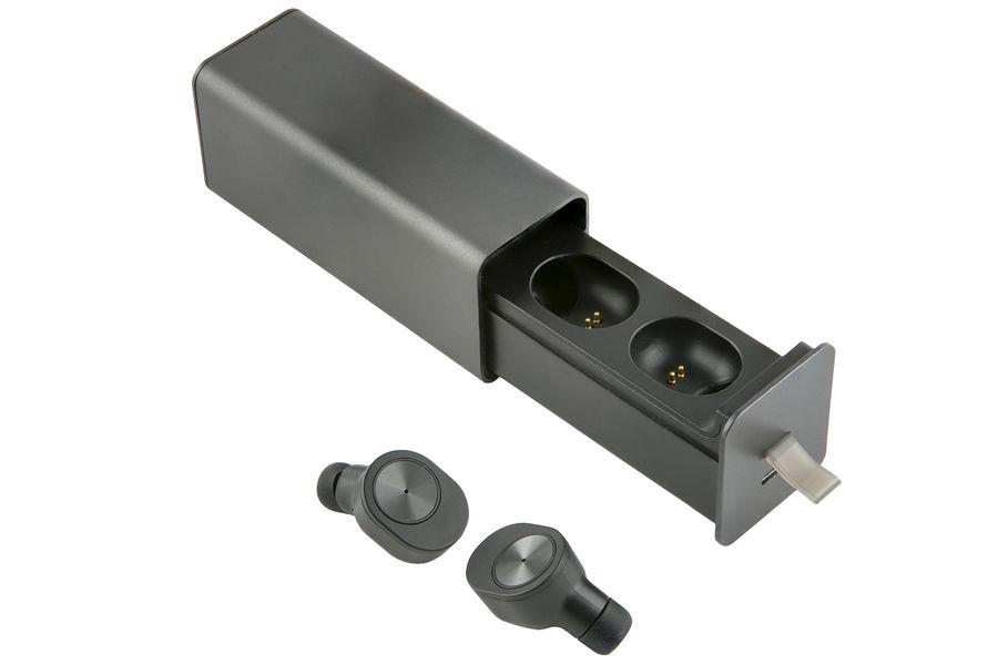 Наушники с микрофоном REDLINE BHS-06, Bluetooth, вкладыши, черный [ут000015413]