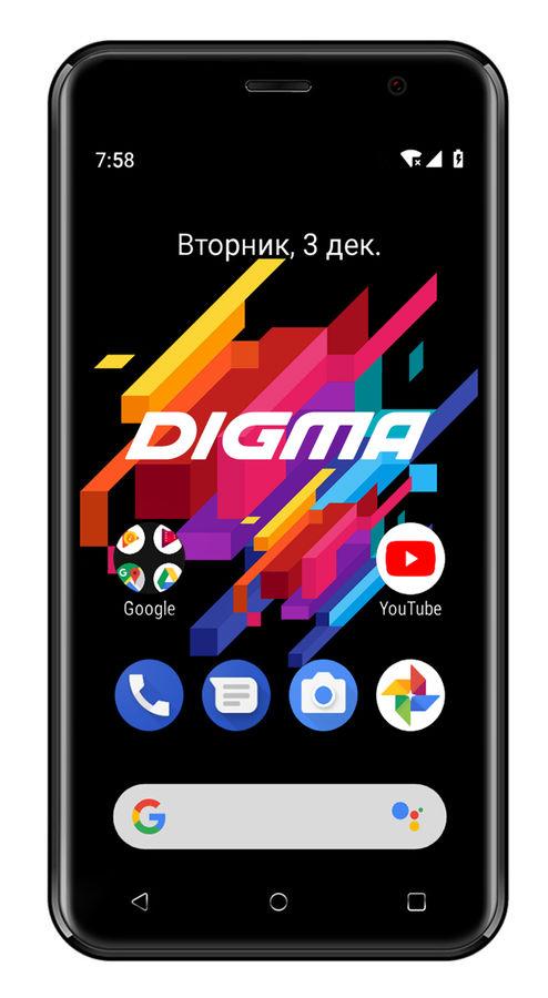 Смартфон DIGMA Linx Joy 3G,  темно-серый