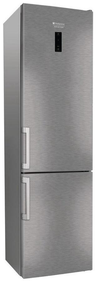Холодильник HOTPOINT-ARISTON HS 5201 X O,  двухкамерный, нержавеющая сталь [105708]