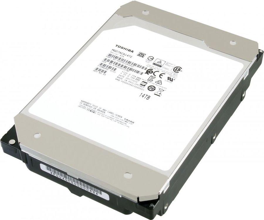 "Жесткий диск TOSHIBA Enterprise Capacity MG07ACA14TE,  14Тб,  HDD,  SATA III,  3.5"""