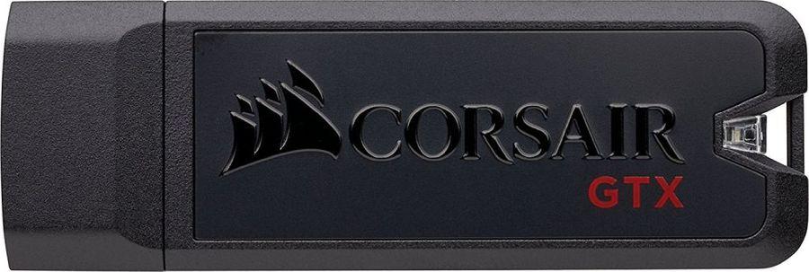Флешка USB CORSAIR Voyager GTX 256Гб, USB3.0, черный и черный [cmfvygtx3c-256gb]