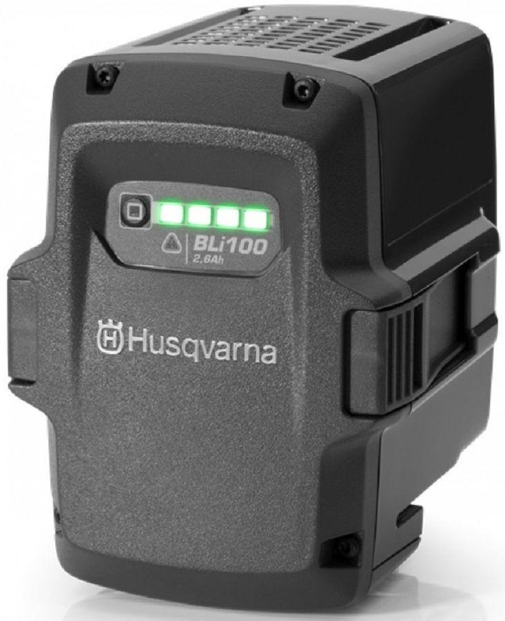Батарея аккумуляторная Husqvarna BLi100 36В 2.5Ач Li-Ion (9670918-01)