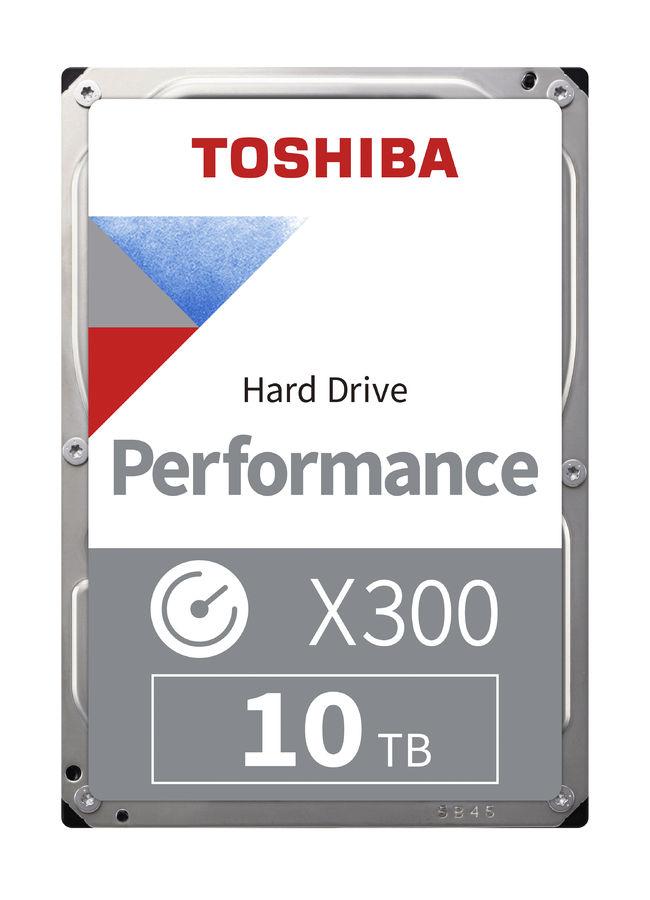 "Жесткий диск TOSHIBA X300 HDWR11AUZSVA,  10Тб,  HDD,  SATA III,  3.5"""