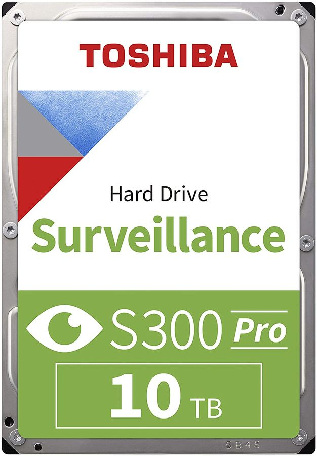 "Жесткий диск TOSHIBA S300 HDWT31AUZSVA,  10Тб,  HDD,  SATA III,  3.5"""