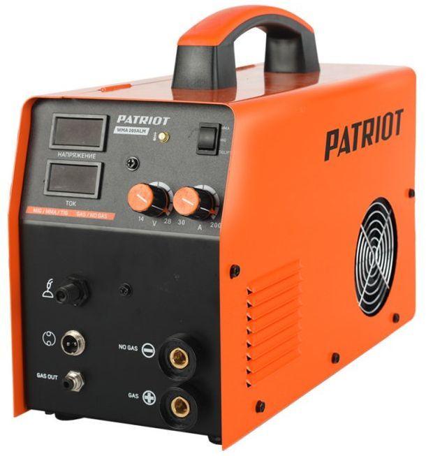 Сварочный аппарат инвертор PATRIOT WMA 205ALM [605301865]