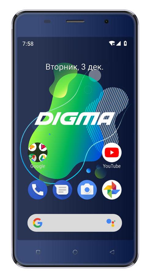 Смартфон DIGMA Linx X1 3G,  темно-синий