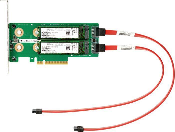 Комплект расширения HPE 878783-B21 Universal SATA HHHL 3Y Wty M.2 Kit
