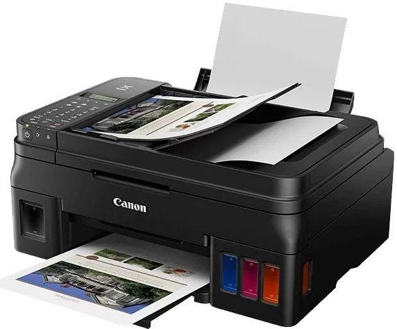 МФУ струйный CANON Pixma G4410, A4, цветной, струйный, черный [2316c009]