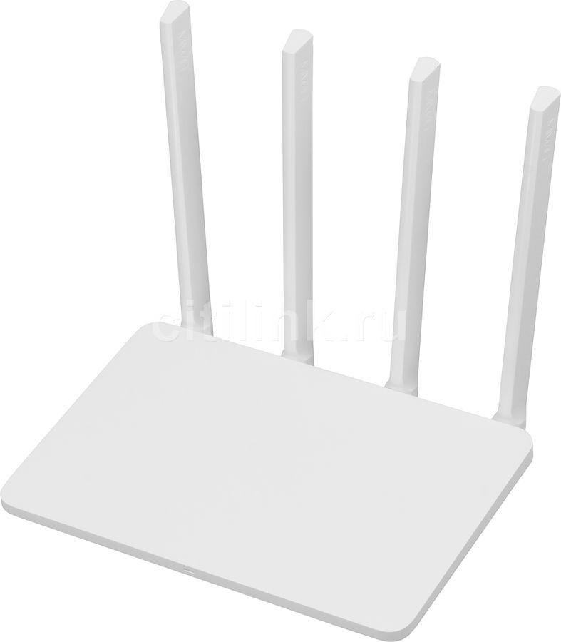 Беспроводной роутер XIAOMI Mi WiFi router 3C,  белый [dvb4152cn]