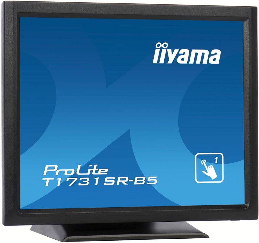 "Монитор IIYAMA T1731SR-B5 17"", черный"