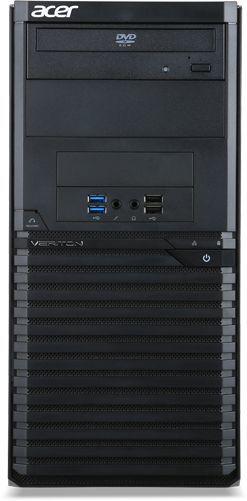 Компьютер  ACER Veriton M2640G,  Intel  Pentium  G4560,  DDR4 4Гб, 500Гб,  Intel HD Graphics 610,  DVD-RW,  Free DOS,  черный [dt.vpper.141]