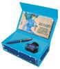 Набор Pelikan Classic M120 SE (PL809801) Iconic Blue ручка перьевая F в компл.:флакон чернил подар.к