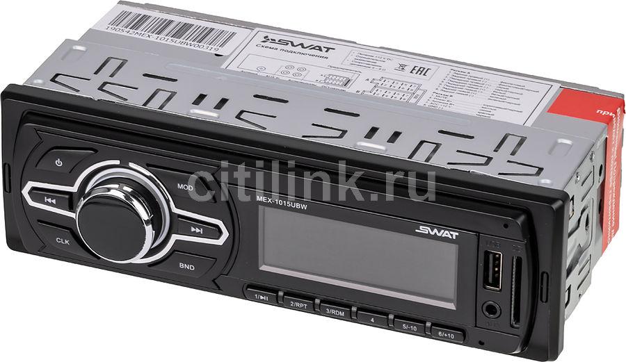 Автомагнитола SWAT MEX-1015UBW,  USB,  SD