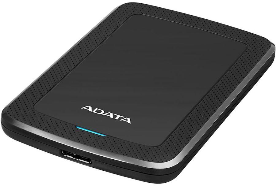 Внешний жесткий диск A-DATA HV300, 1Тб, черный [ahv300-1tu31-cbk]