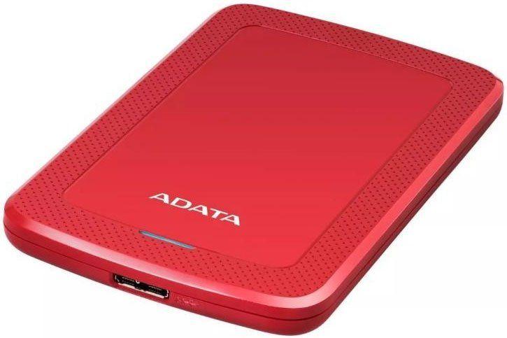 Внешний жесткий диск A-DATA HV300, 2Тб, красный [ahv300-2tu31-crd]