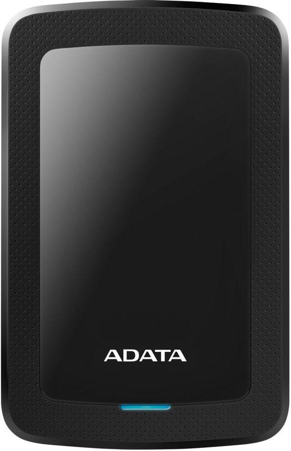 Внешний жесткий диск A-DATA HV300, 4Тб, черный [ahv300-4tu31-cbk]