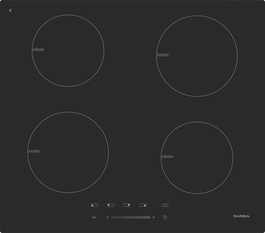 Индукционная варочная панель DARINA 5P EI 313 B,  индукционная,  независимая,  черный