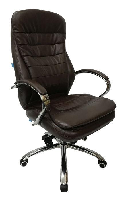 Кресло руководителя БЮРОКРАТ T-9950AXSN, на колесиках, искусственная кожа [t-9950axsn/brown-pu]