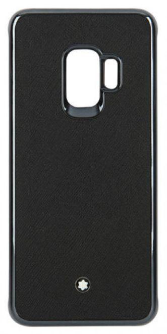 Чехол (клип-кейс) SAMSUNG Montblanc Sartorial, для Samsung Galaxy S9, черный [gp-g960mbcpaaa]