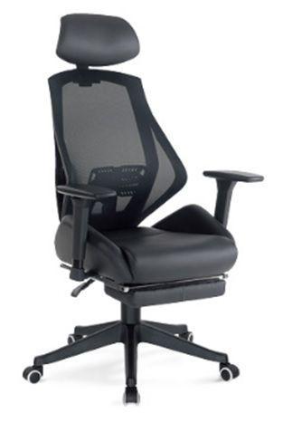 Кресло игровое БЮРОКРАТ CH-770, на колесиках, искусственная кожа/сетка, черный [ch-770/black]