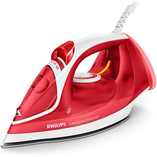 Утюг PHILIPS GC2672/40,  2300Вт,  красный