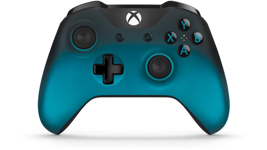 Геймпад Беспроводной MICROSOFT Ocean Shadow, для  Xbox One, бирюзовый [wl3-00040]