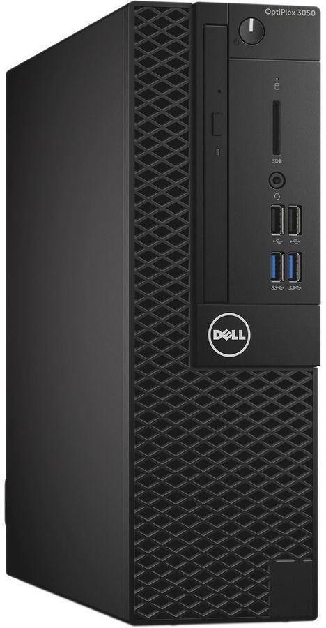 Компьютер  DELL Optiplex 3050,  Intel  Core i3  6100,  DDR4 4Гб, 500Гб,  Intel HD Graphics 530,  DVD-RW,  Windows 10 Professional,  черный [486-12438]