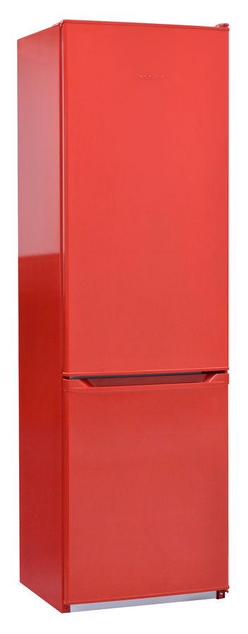 Холодильник NORD NRB 120 832,  двухкамерный, красный [00000247706]