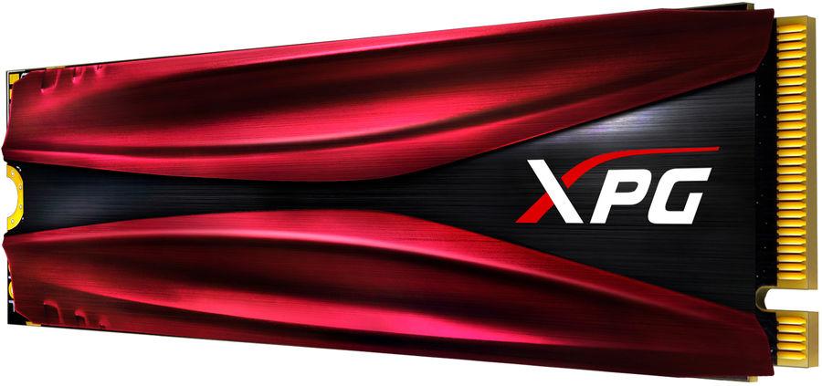 SSD накопитель A-DATA XPG GAMMIX S11 AGAMMIXS11-480GT-C 480Гб, M.2 2280, PCI-E x4,  NVMe