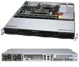 Корпус SuperMicro CSE-813MF2TQC-R608CB 2x600W черный
