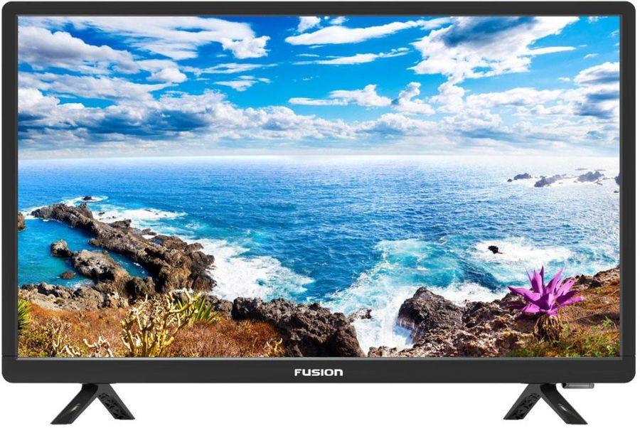 "LED телевизор FUSION FLTV-22T100T  ""R"", 22"", FULL HD (1080p),  черный"