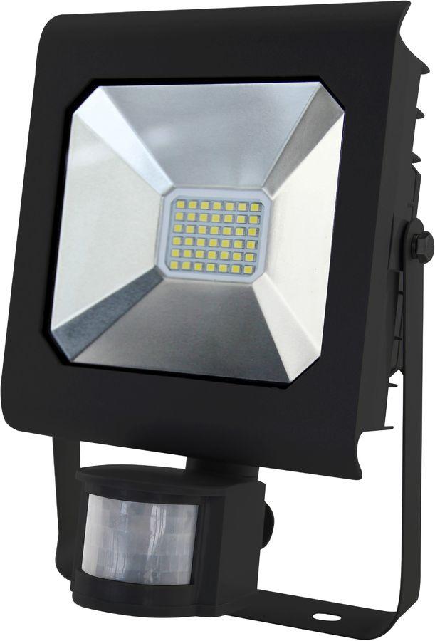 Прожектор уличный ЭРА LPR-30-4000К-М-SEN SMD PRO, 30Вт, с датчиком движения [б0028658]