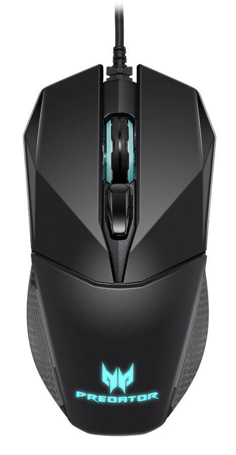 Мышь ACER Predator Cestus 300 оптическая проводная USB, черный [np.mce11.007]