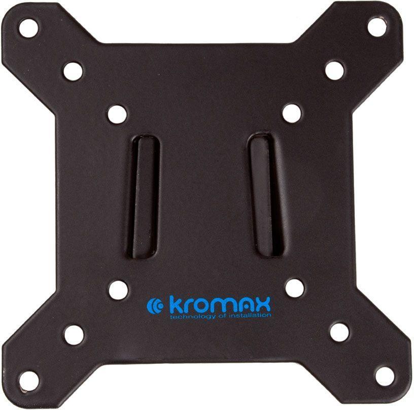 """Кронштейн для телевизора Kromax VEGA-3 new черный 15""""-32"""" макс.20кг настенный фиксированный"""