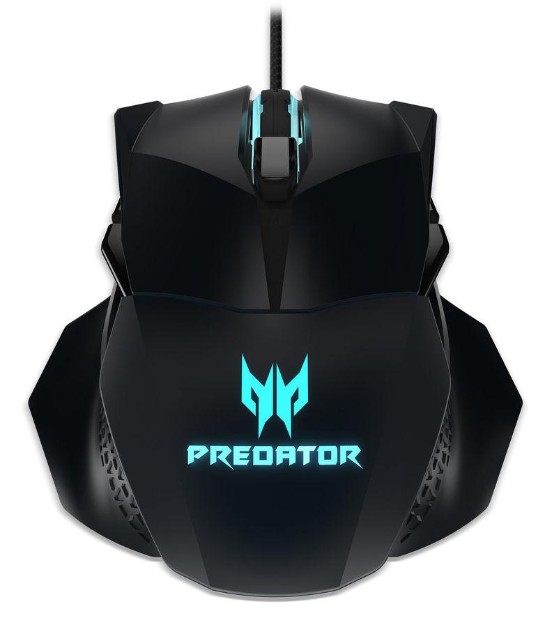 Мышь ACER Predator Cestus 500, игровая, оптическая, проводная, USB, черный [np.mce11.008]