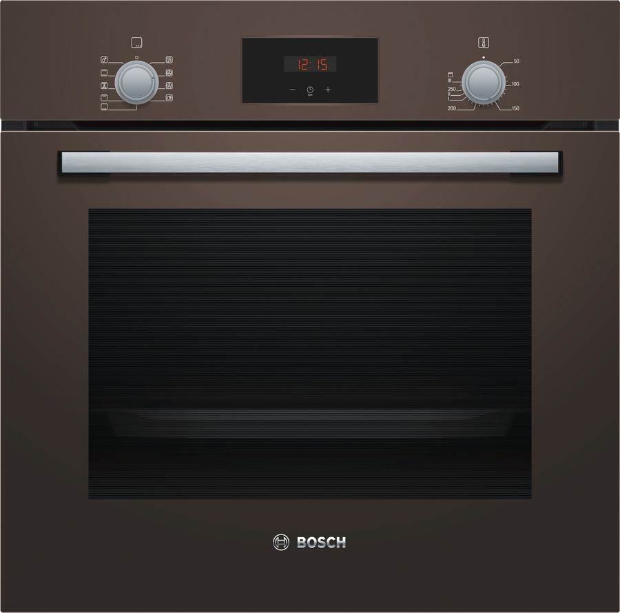 Духовой шкаф BOSCH HBF114BL0R,  коричневый