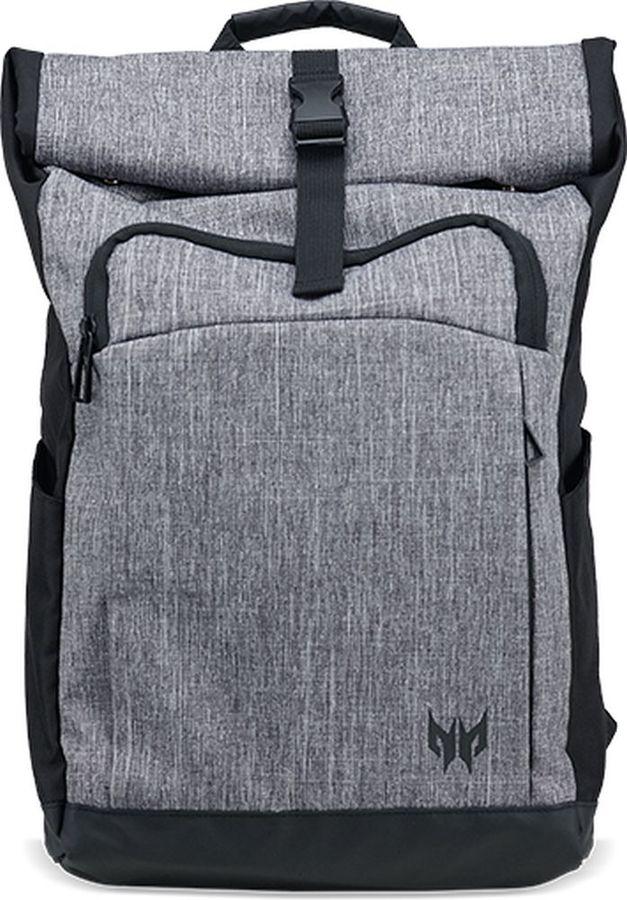 """Рюкзак 15.6"""" ACER Predator Rolltop Jr., серый/черный [np.bag1a.292]"""